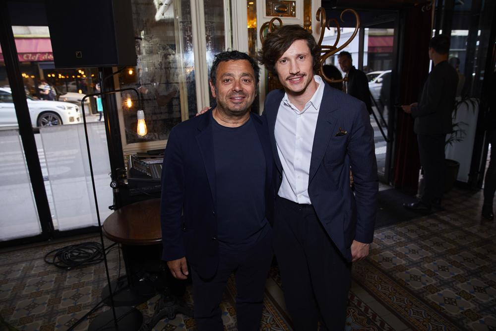 Charles Zana et Fabien Valerian