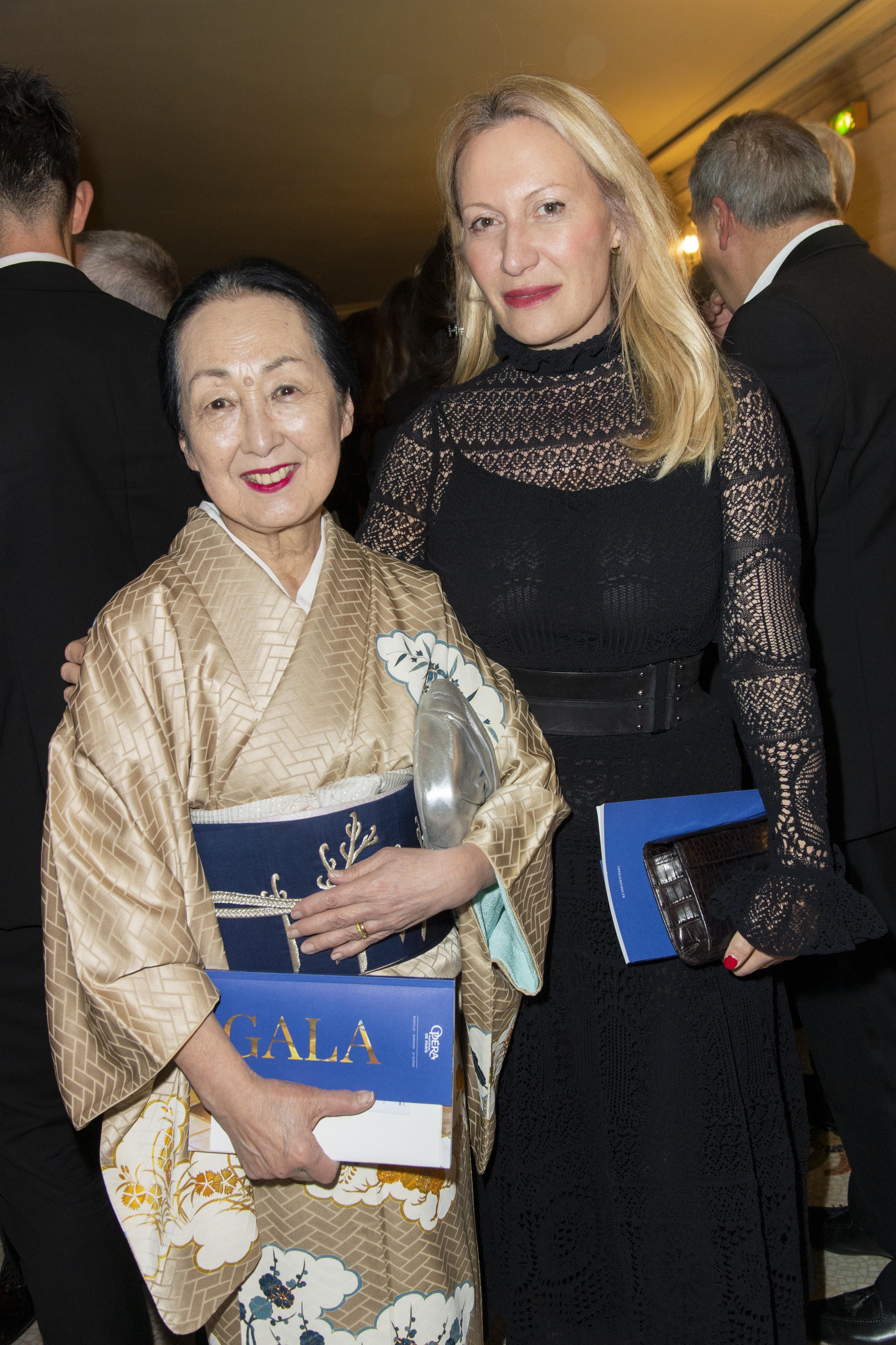 Setsuko Klossowska de Rola et Diana Widmaier-Picasso.  ©Virgile Guinard