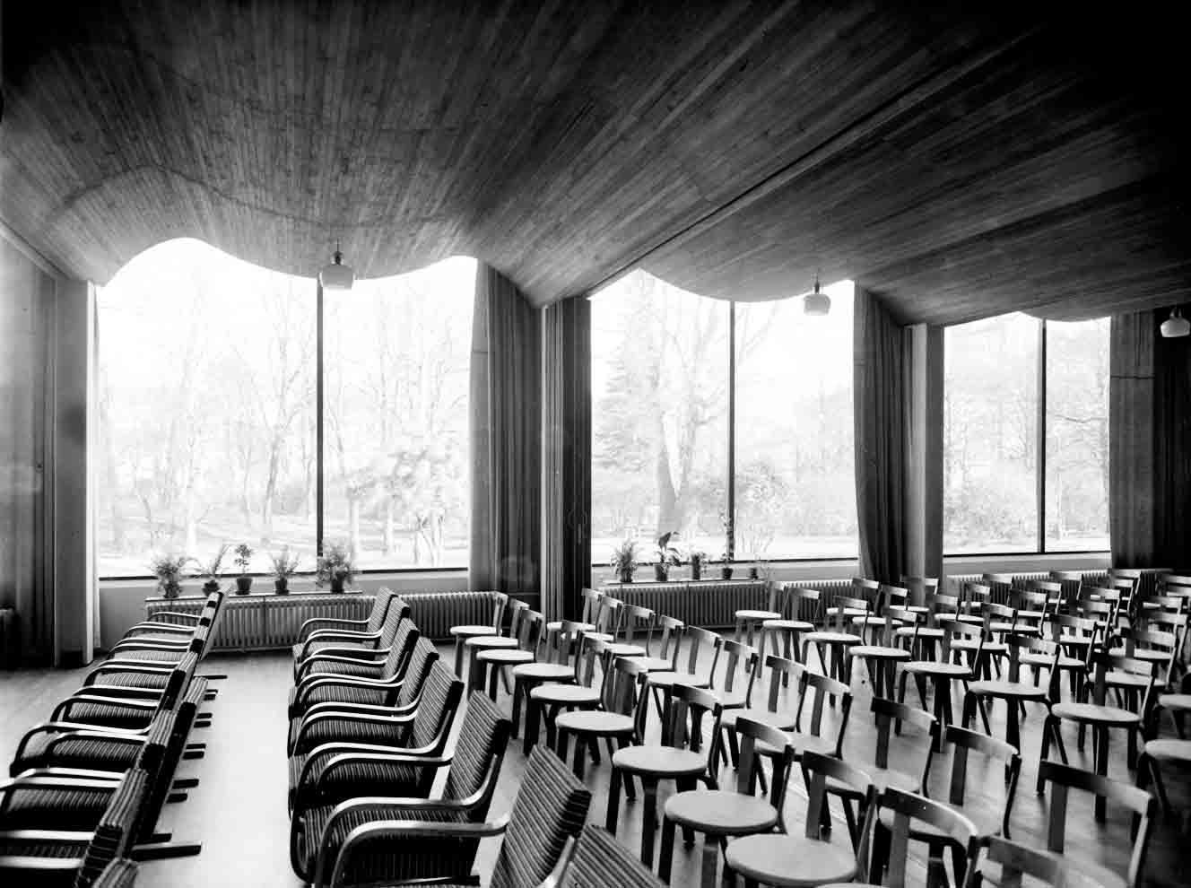 Bibliothèque de Viipuri ©Alvar Aalto Museum, photo Gustaf Welin, VG Bild-Kunst, Bonn, 2014