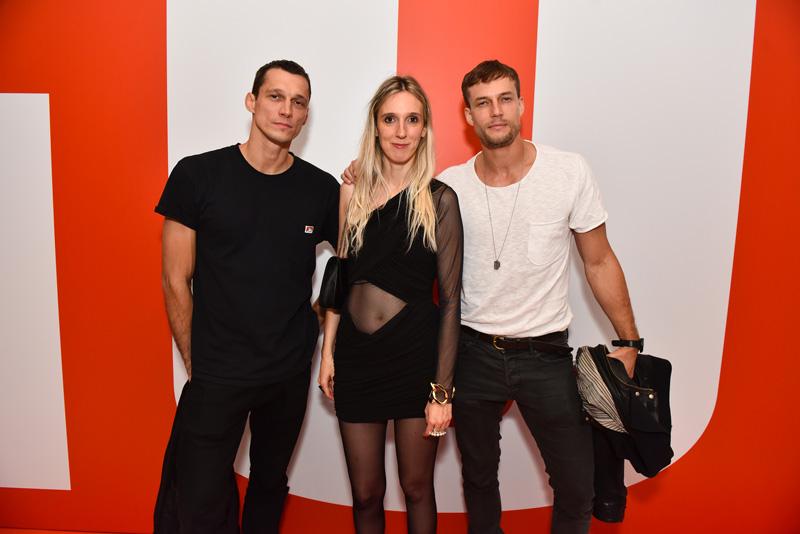 Pavel Voz, Delphine Roche et David Genat