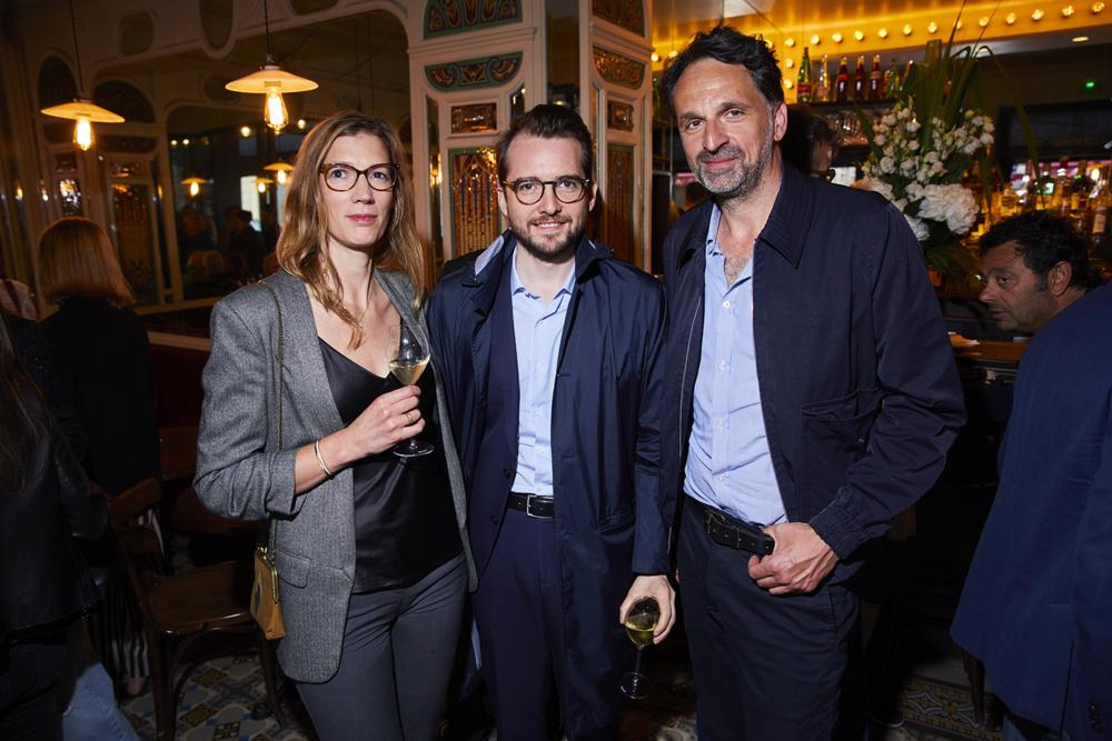 Sophie Dusigne, Thibault Caizergues et Marcus Rothe