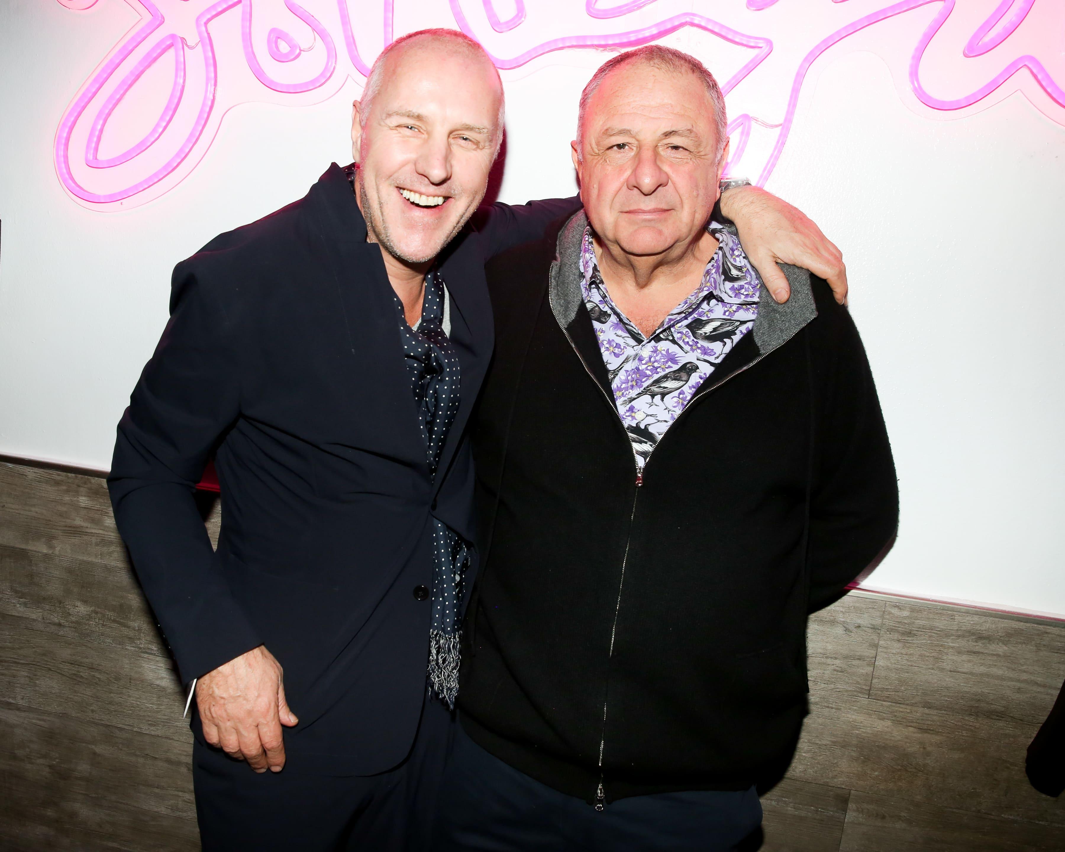 Simon Mills et Jean Pigozzi