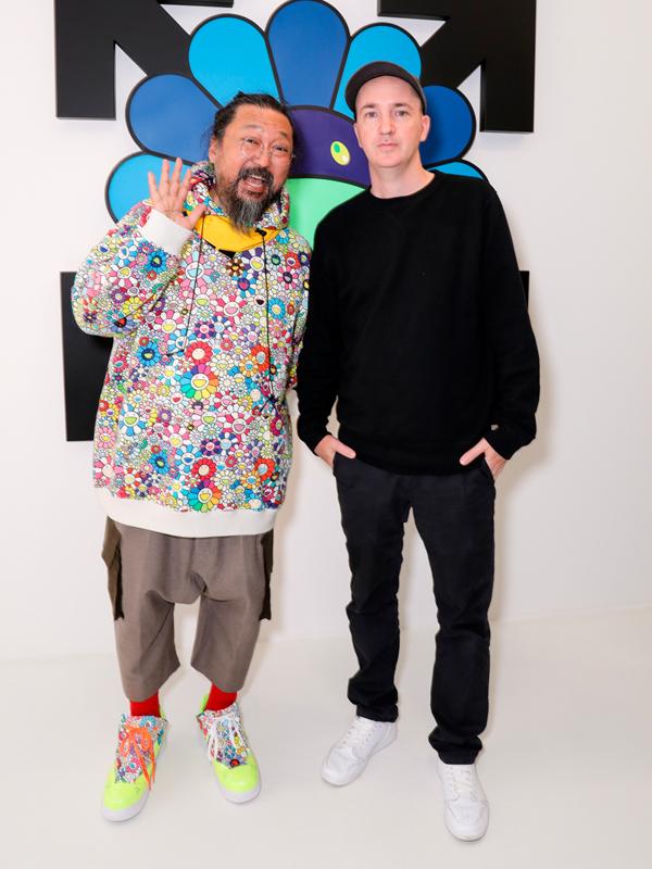 Takashi Murakami et Brian Donnelly