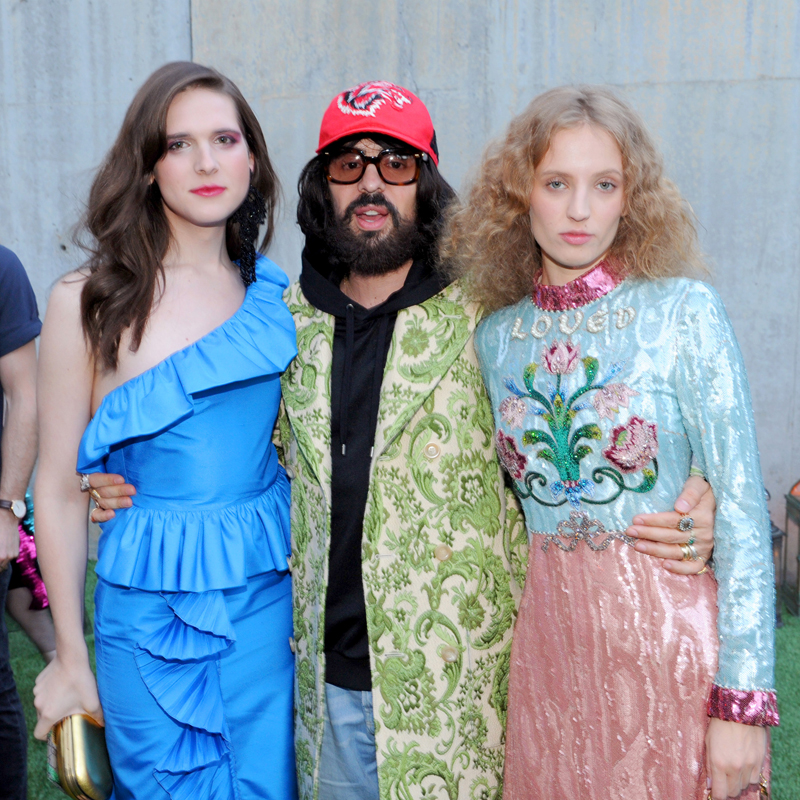 Hari nef, Alessandro Michele and Petra Collins