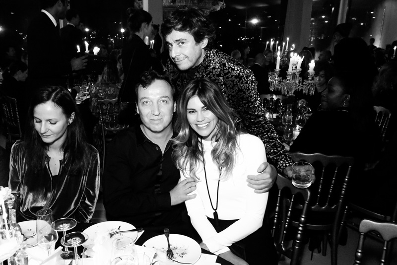 Emmanuel Perrotin, Lorena Vergani et Ariel Wizman