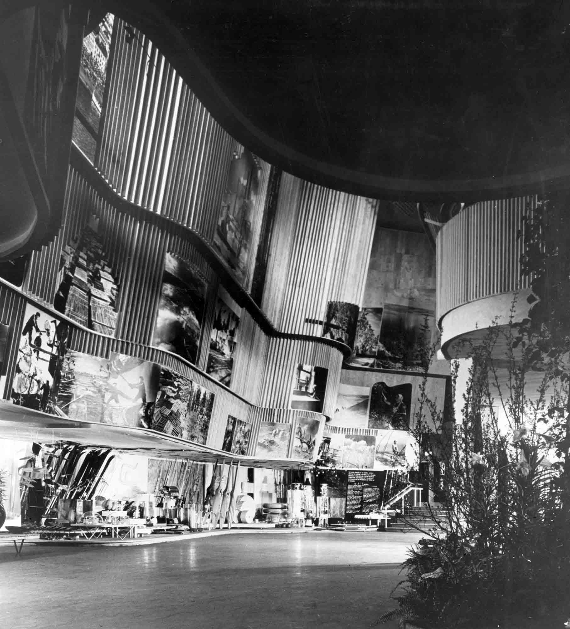 Pavillon finlandais, Expo universelle 1939 ©Alvar Aalto Museum, Esto Photographics, photo Ezra Stoller