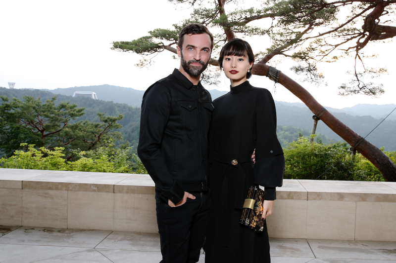 Nicolas Ghesquière et Shioli Kutsuna