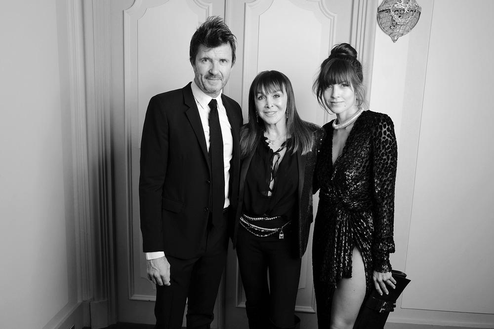 Paul-Emmanuel Reiffers, Babeth Djian et Caroline Nielsen