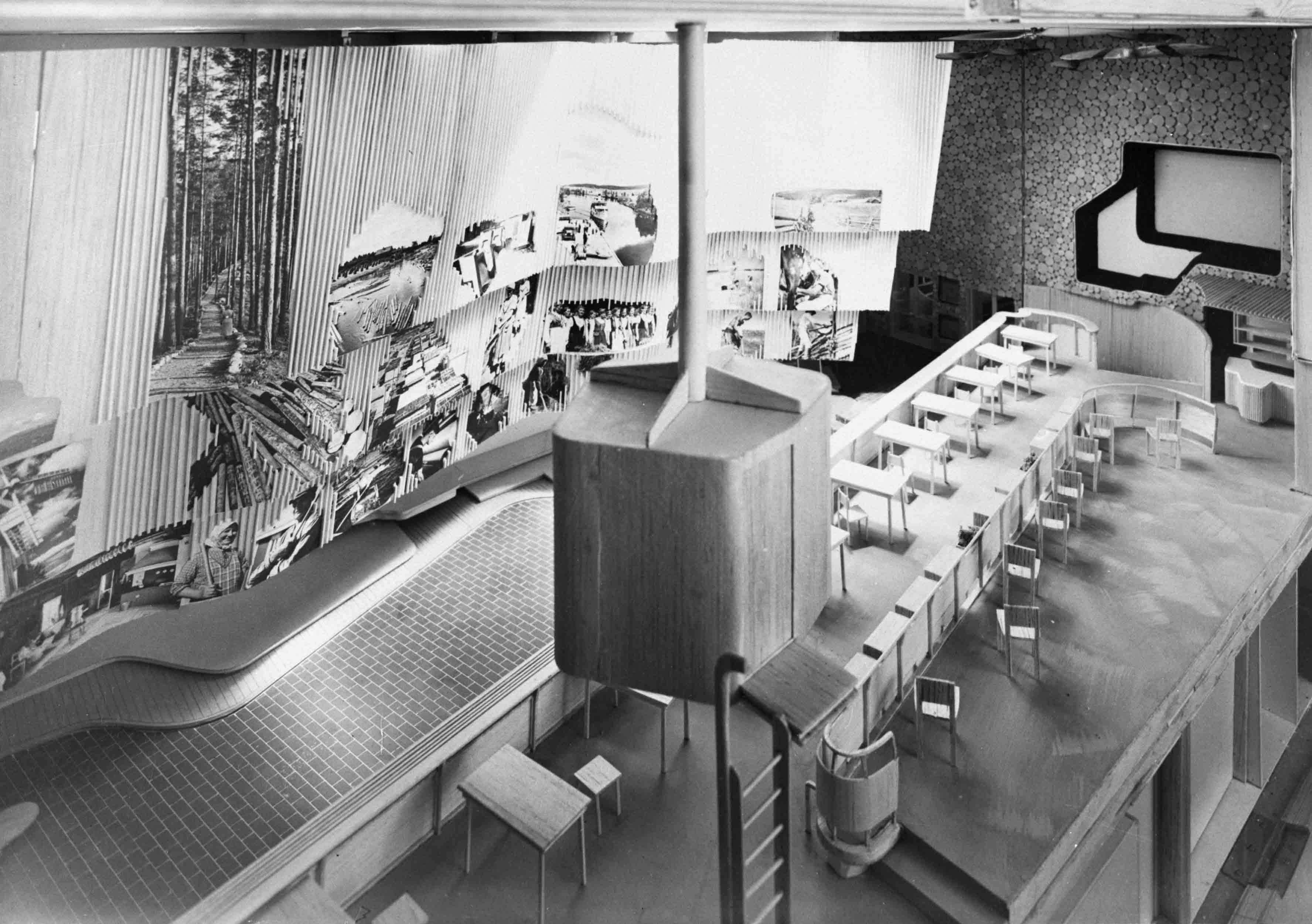 Pavillon finlandais, Expo universelle 1939 ©Alvar Aalto Museum