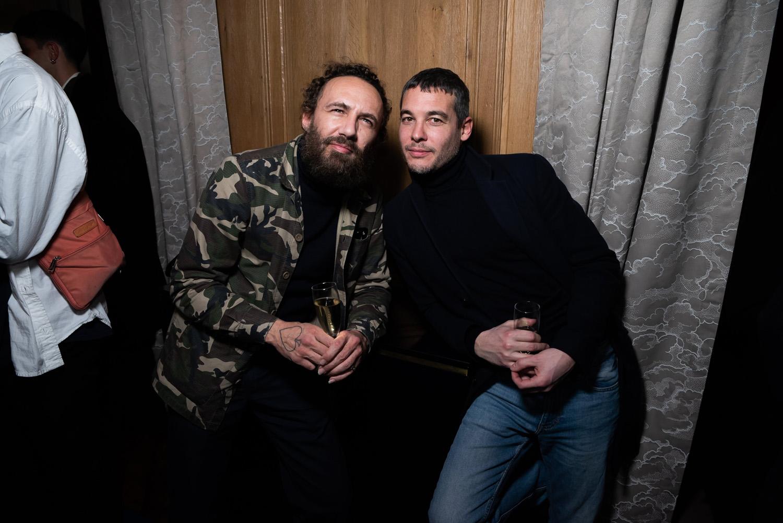 Mathias Kiss et Édouard Troubat