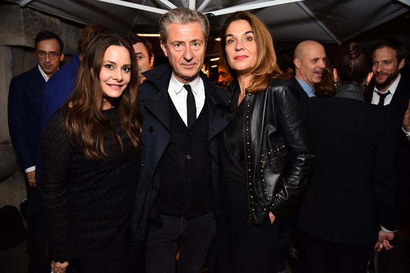 Hedieh Loubier, Jérôme Sans et Jasmine Spezie