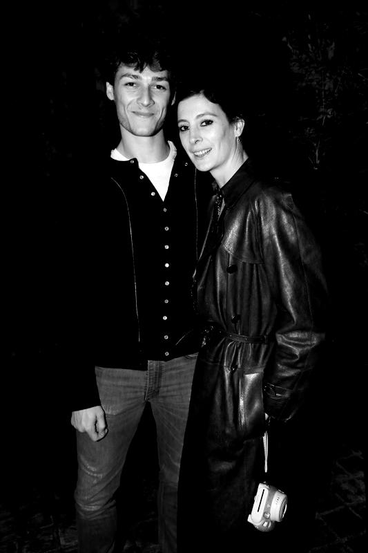 Hugo Marchand et Marie-Agnès Gillot