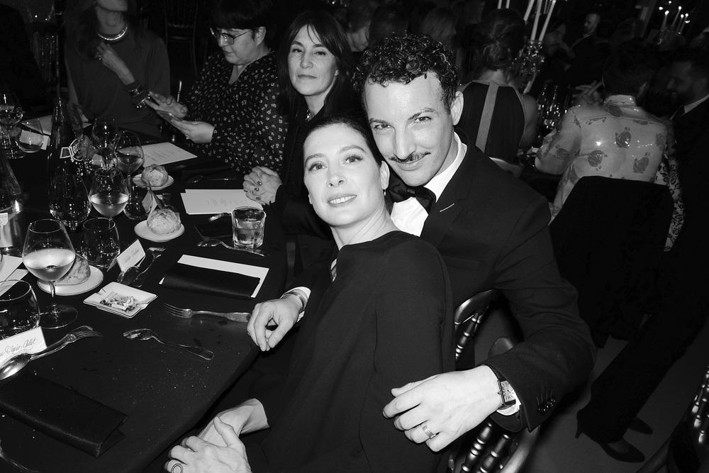 Marie-Agnès Gillot et Nicolas Ouchenir