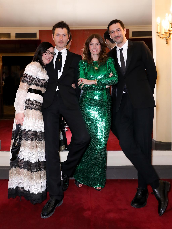 Sylvie Hoarau, Simon Buret, Aurélie Saada et Olivier Coursier.  ©François Goize