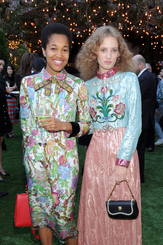 Tenu McPherson and Petra Collins
