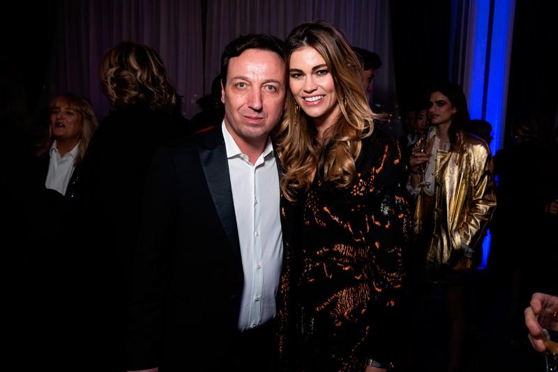 Emmanuel Perrotin et Lorena Vergani