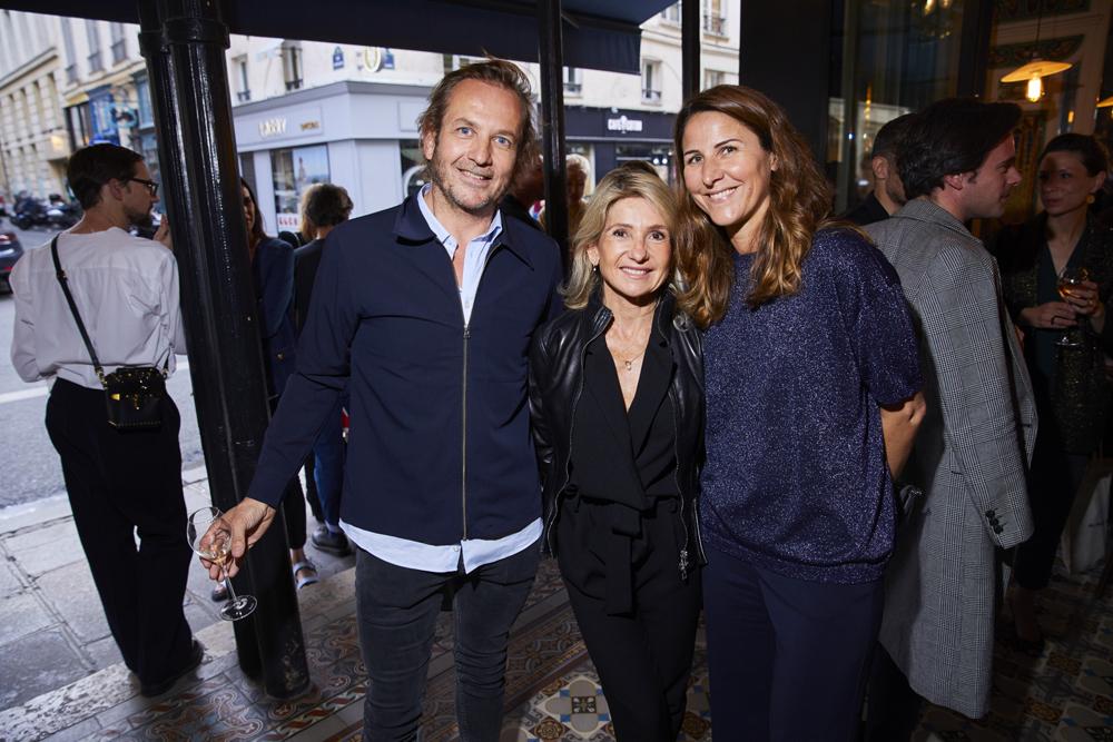 Gwenael Dilosquer, Marion Setiey et Amélie Cames