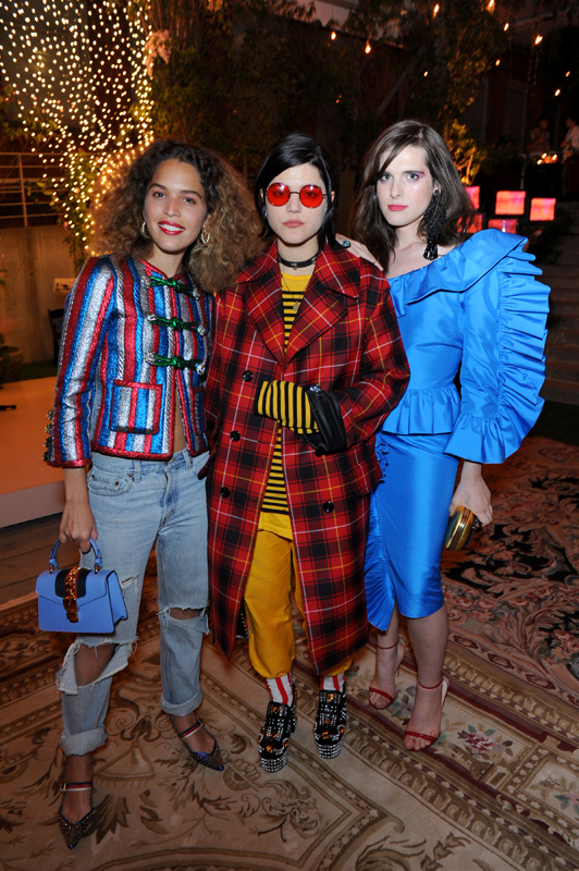 Cleo Wade, Soko and Hari Nef