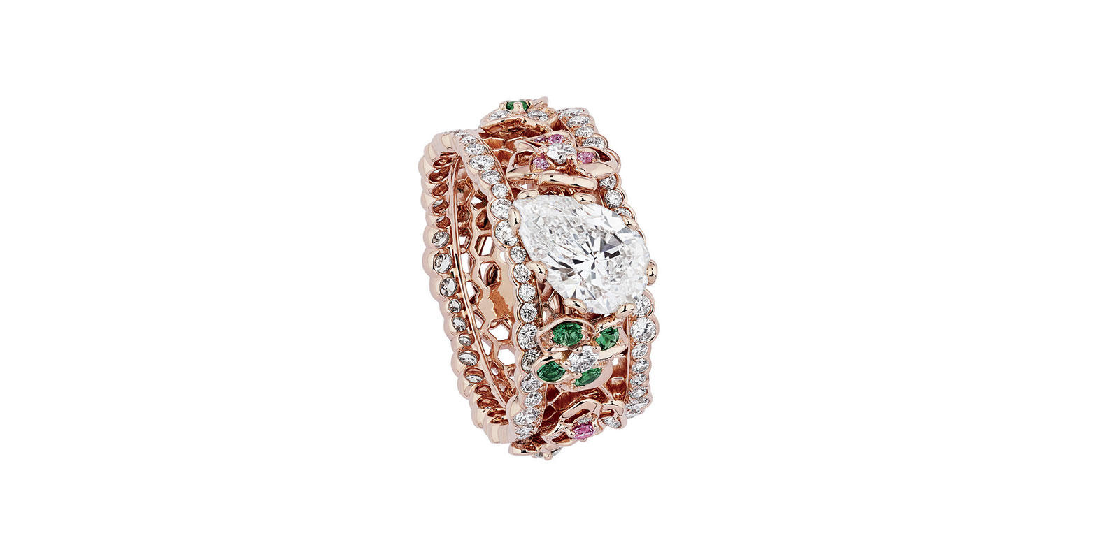 "Bague ""Dentelle Tulle Illusion Diamant"", Dior Joaillerie."