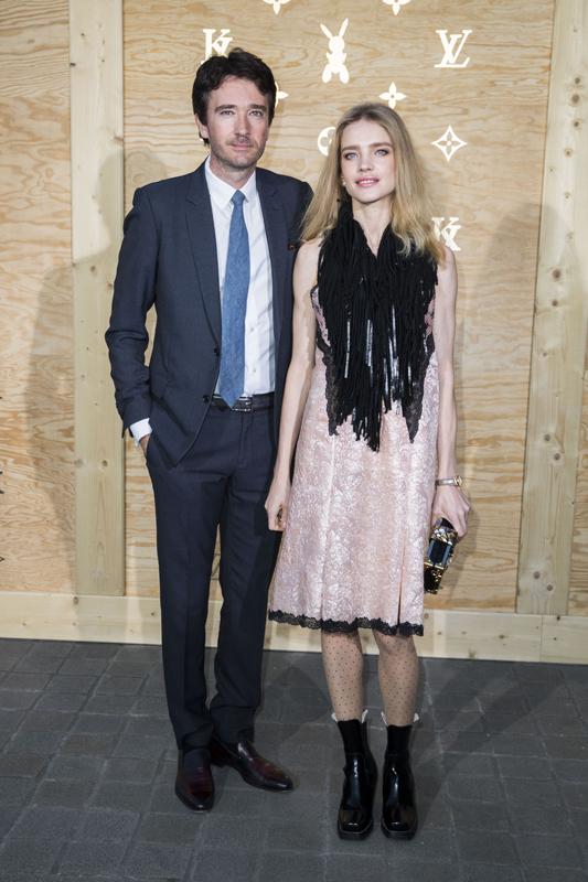 Antoine Arnault et Natalia Vodianova