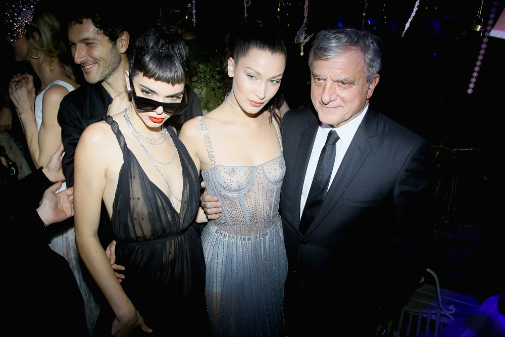 Kendall Jenner, Bella Hadid et Sidney Toledano