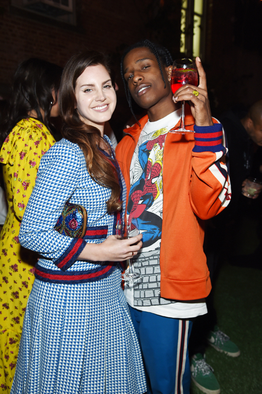 Lana Del Rey and A$AP ROCKY