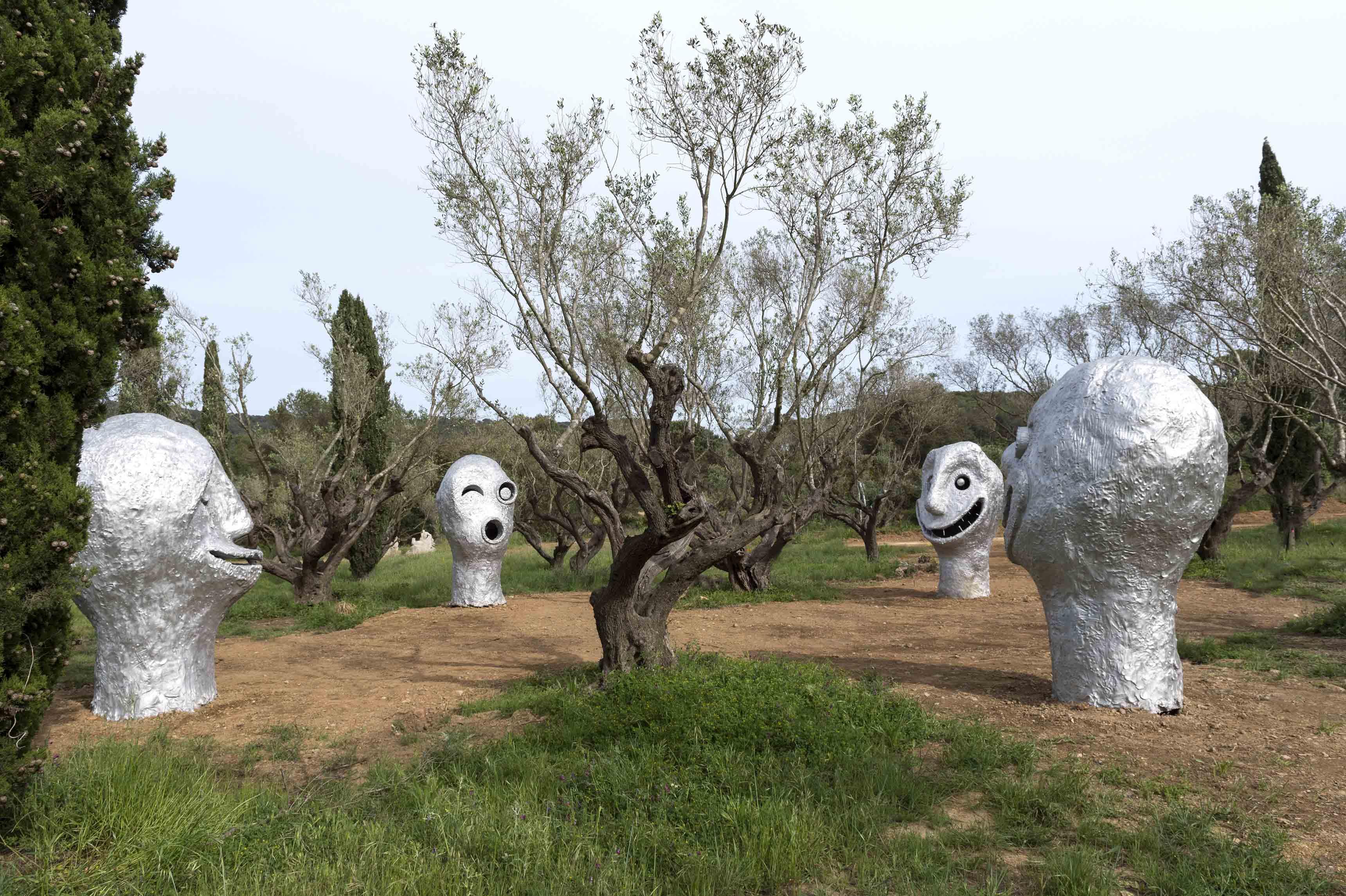 Four seasons, Ugo Rondinone (2018) - photo Marc Domage