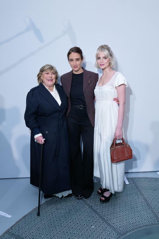 Marianne Faithfull, Natacha Ramsay Levi et Lucy Boynton