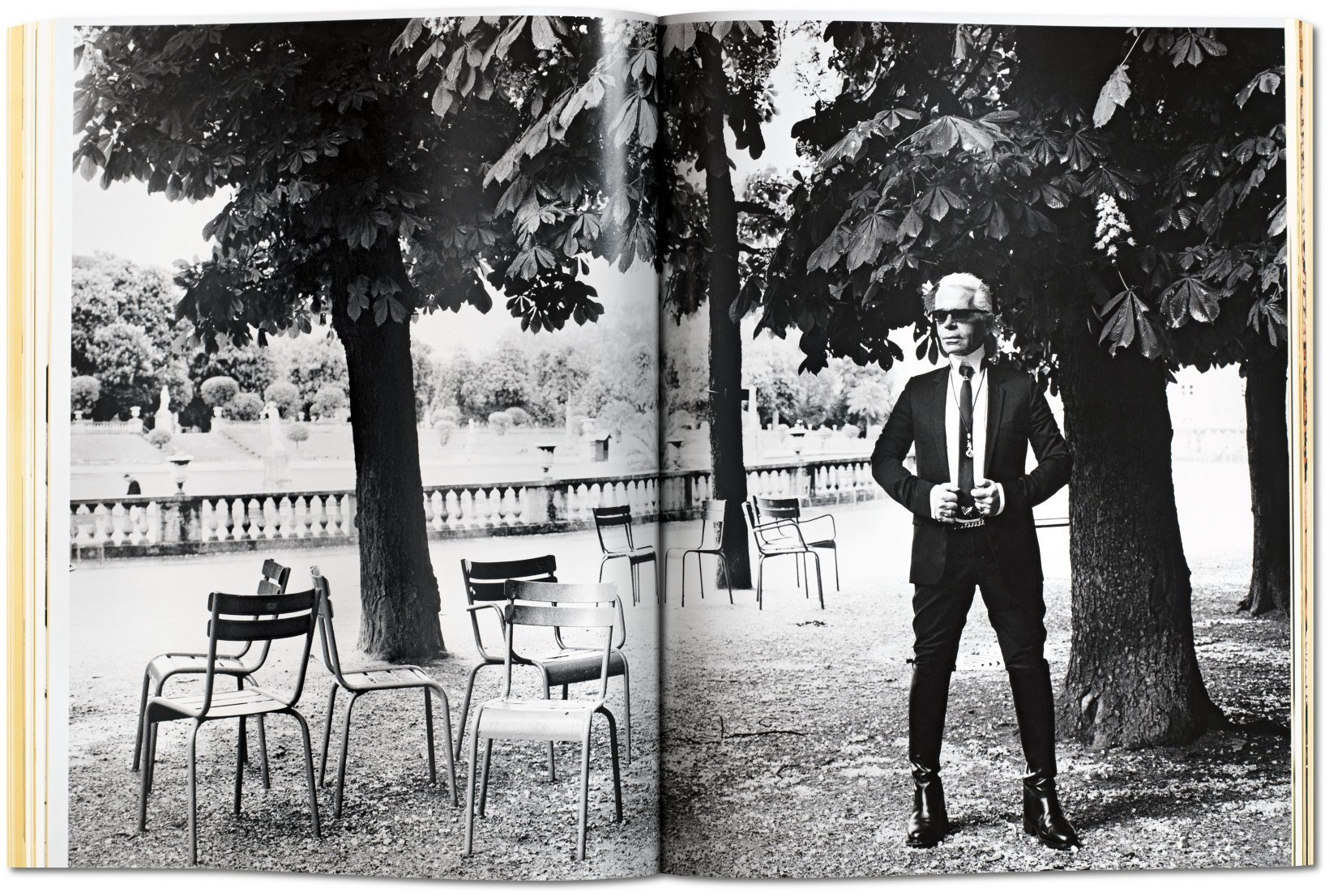 Karl Lagerfeld, Paris, Vogue, 2004