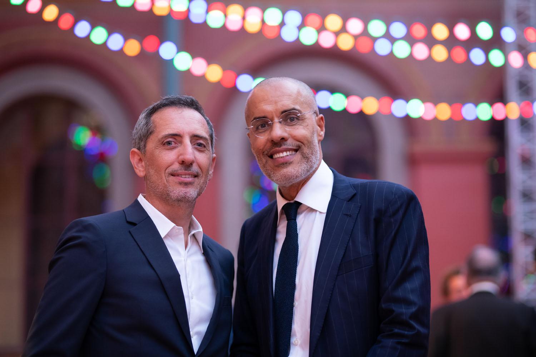 Gad Elmaleh et Kamel Mennour