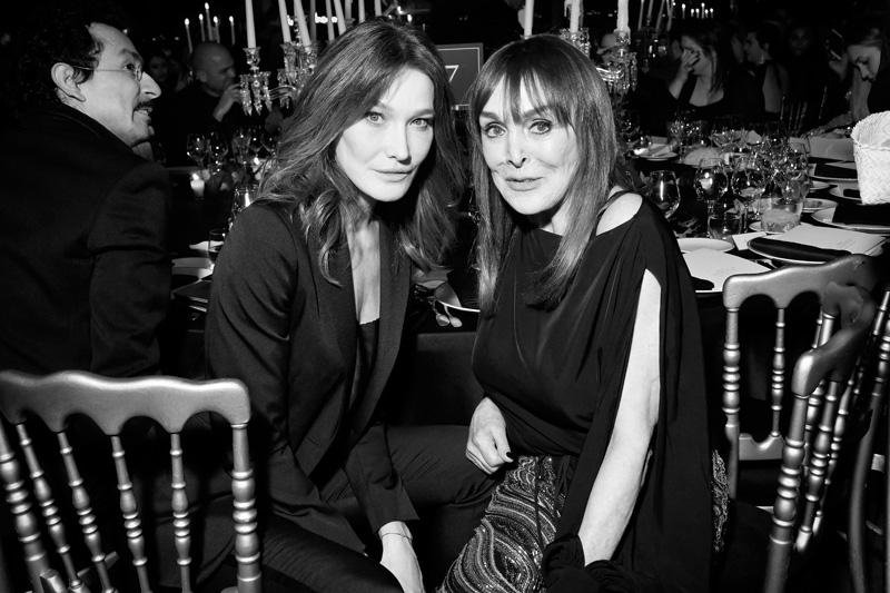 Carla Bruni et Babeth Djian