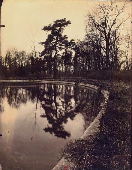 """Eugène Atget, """"Vue du Parc de Sceaux"""", 1925, tirage sur papier au citrate ; 22 x 18 cm France, Paris BnF, département des Estampes et de la Photographie © Bibliothèque nationale de France, Paris"""