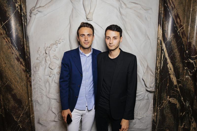 Arnaud Vaillant et Sebastien Meyer