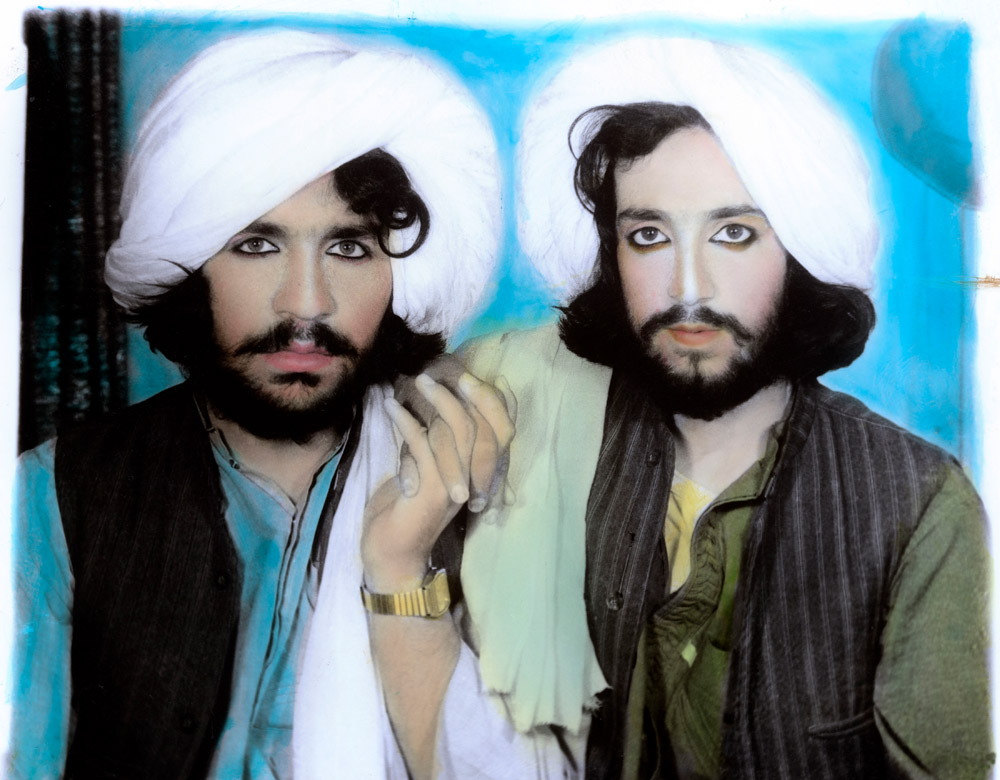 """Taliban portrait. Kandahar, Afghanistan, 2002, Thomas Dworzak, © Collection T. Dworzak/Magnum Photos"