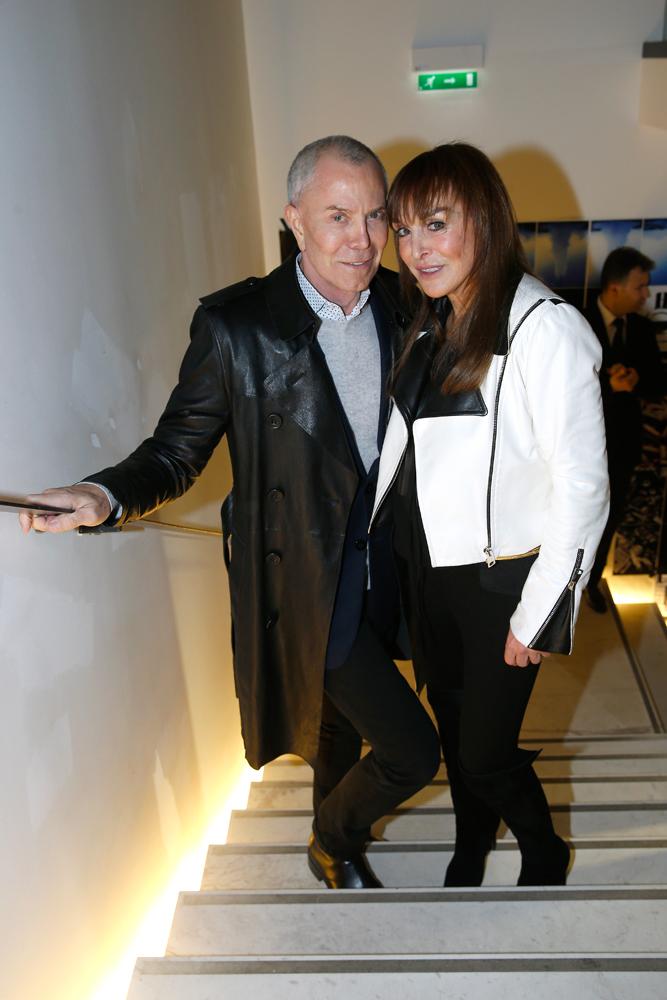 Jean-Claude Jitrois et Babeth Djian