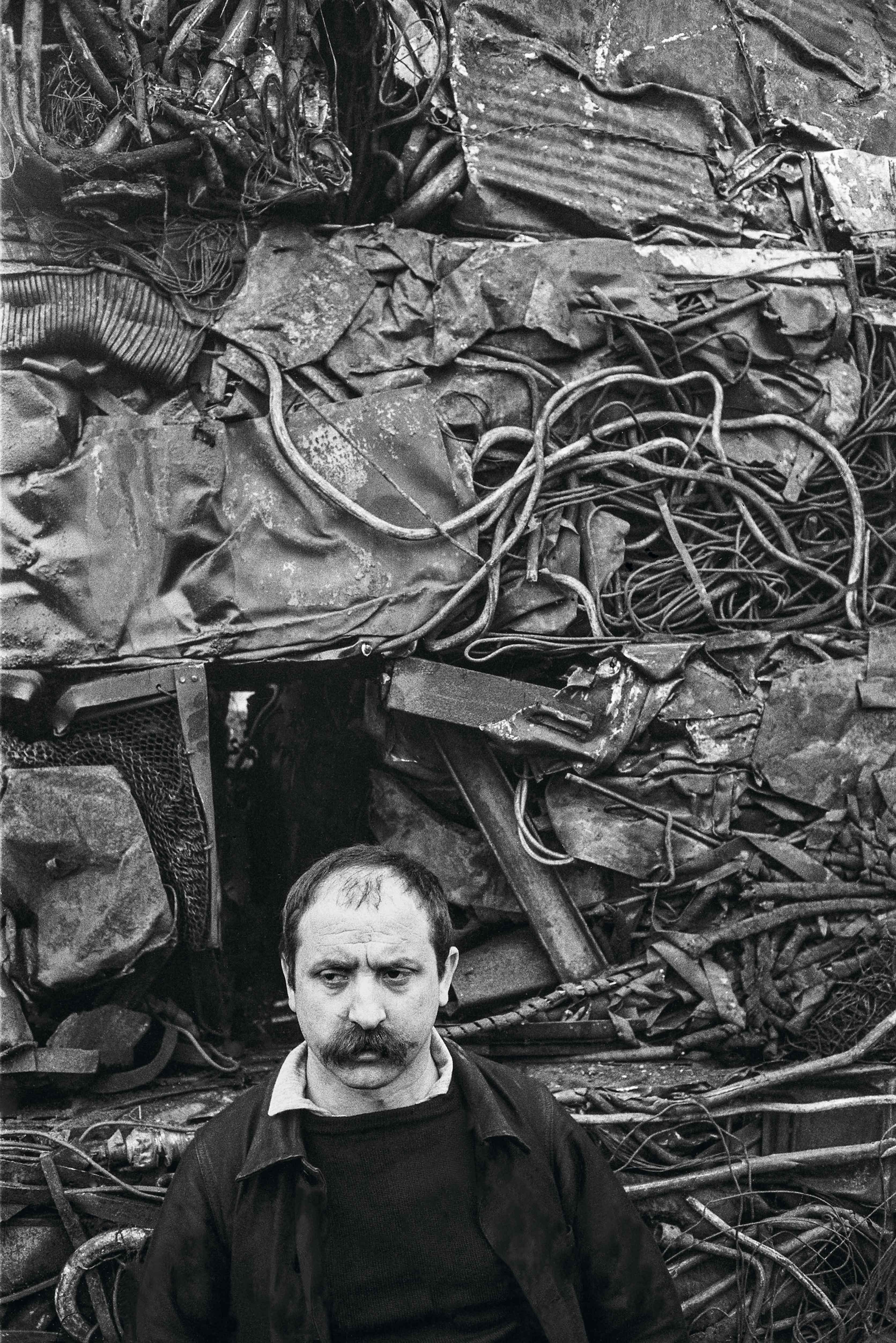 CÉSAR - Portrait, 1960 © Giancarlo Botti