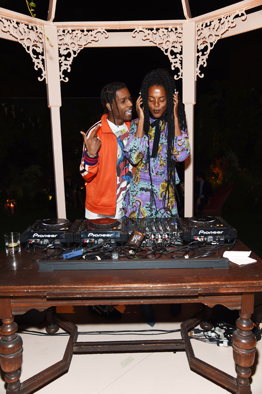 A$AP ROCKY et Juliana Huxtable