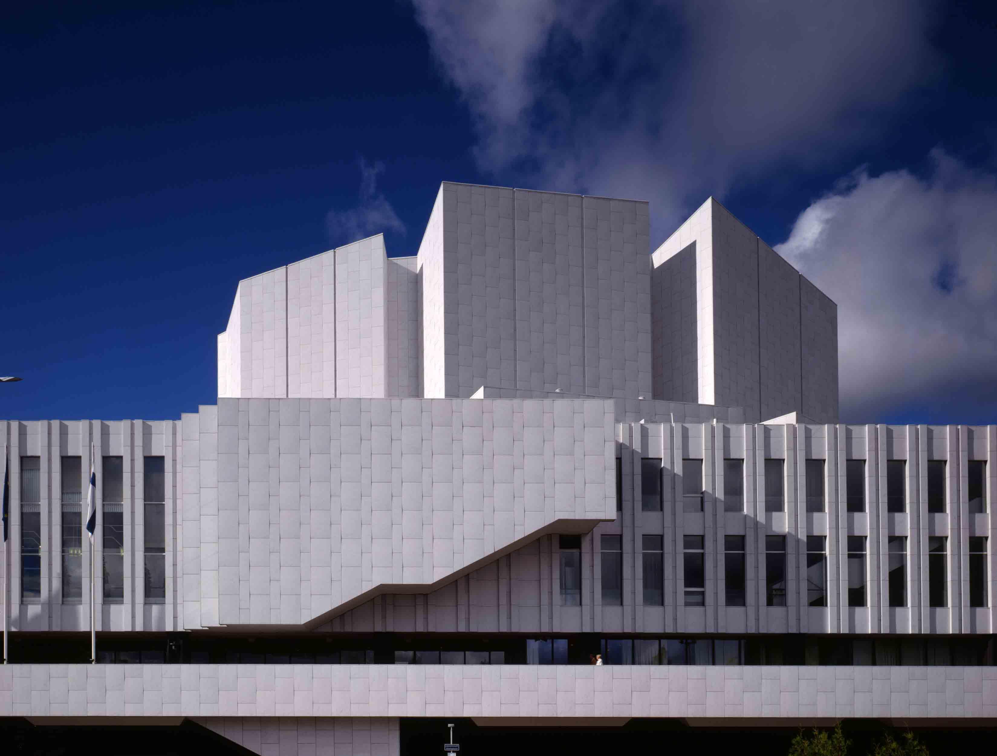 Salle de concert et de convention, Helsinki ©Alvar Aalto Museum, photo Rune Snellman, VG Bild-Kunst, Bonn, 2014