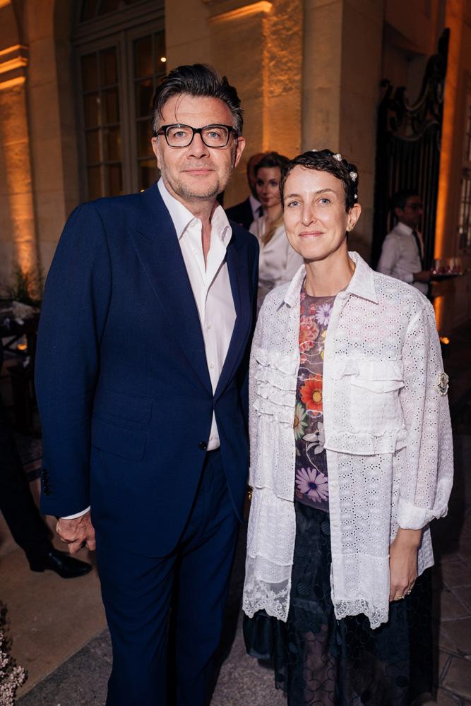 Roberto Egss et Sarah Andelman