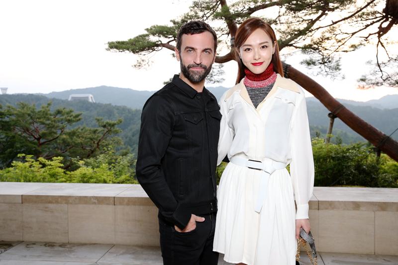 Nicolas Ghesquière et Tang Yan
