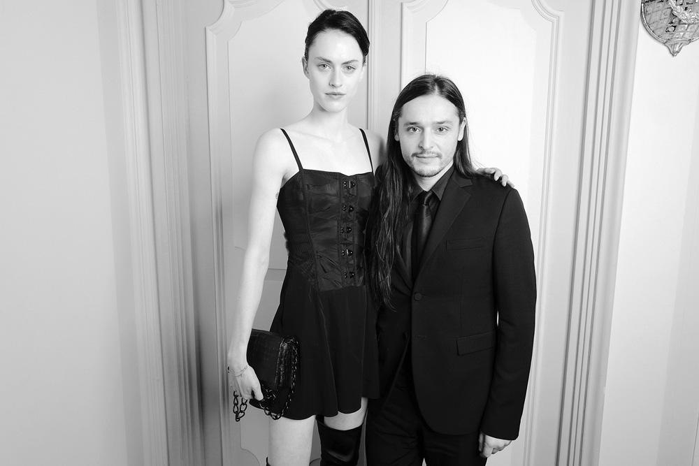 Sarah Brannon et Olivier Theyskens