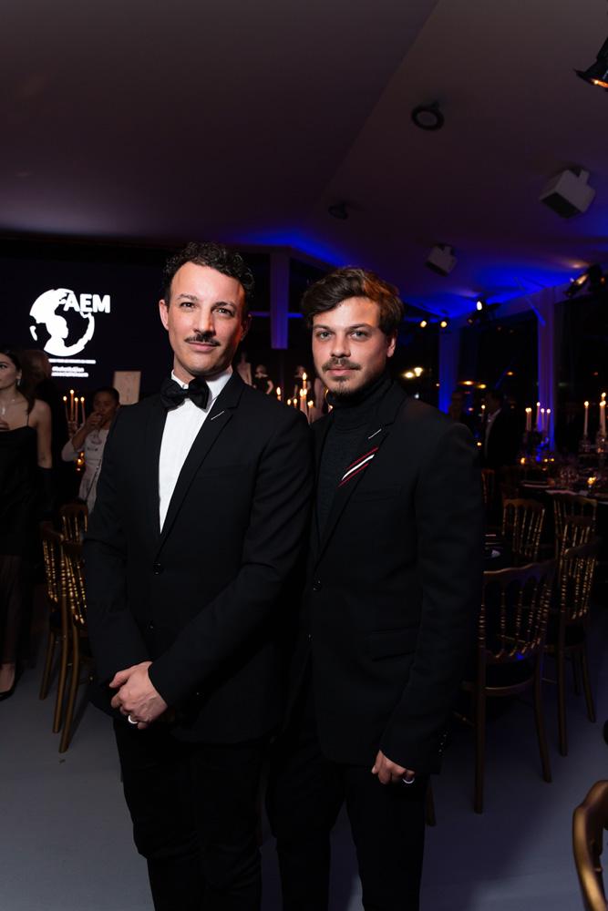 Nicolas Ouchenir et Hugo Matha