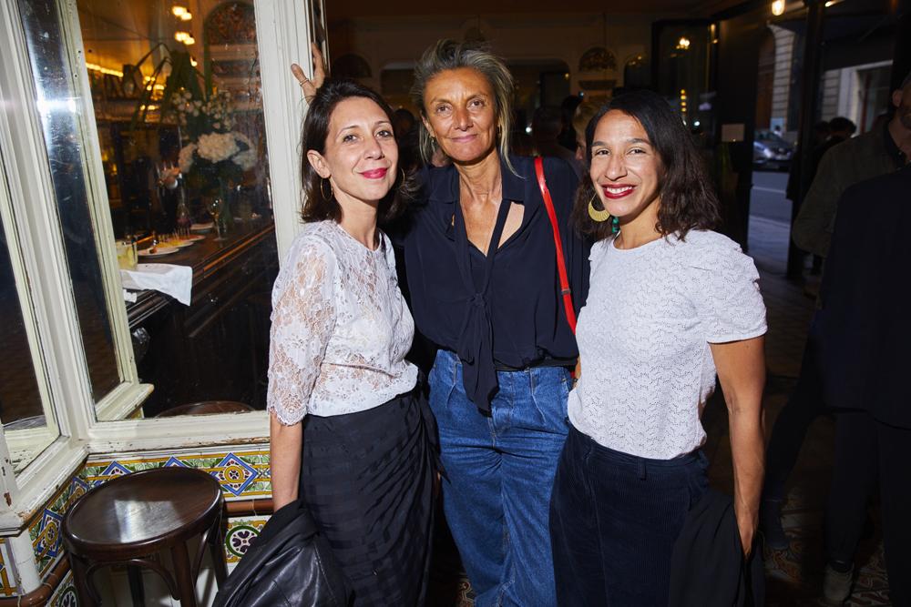 Naïa Sore, Emmanuelle Guillon et Sophie Lawani Wesley