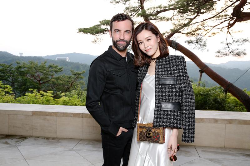Nicolas Ghesquière et Janice Man