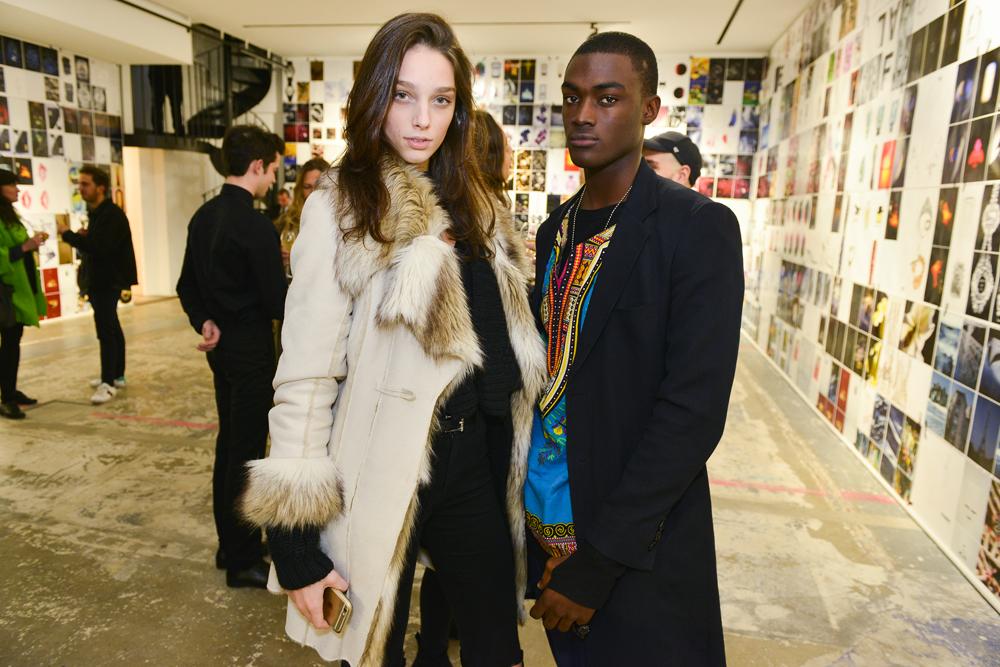 Larissa Marchiori et Davidson Obennebo
