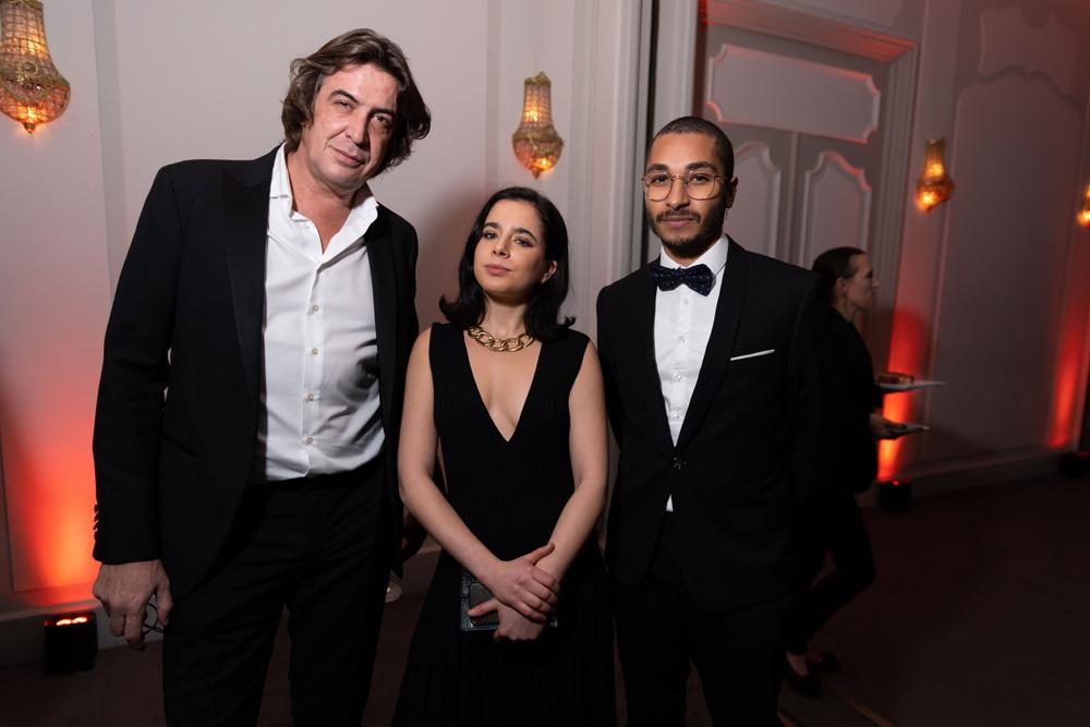 Grégory Reiffers, Léa Zetlaoui et Alexis Thibault
