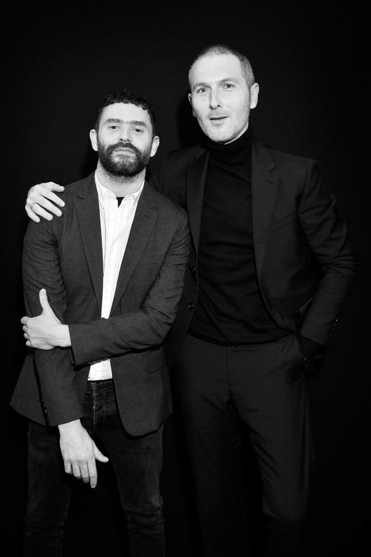 Alexandre Mattiussi et Simon Buret