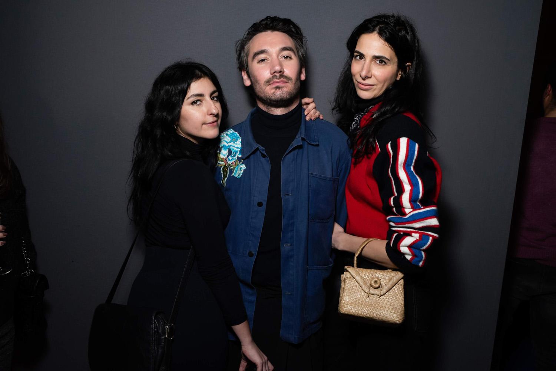 NIli Hadida, Bejamin Belin et Sophie Laban