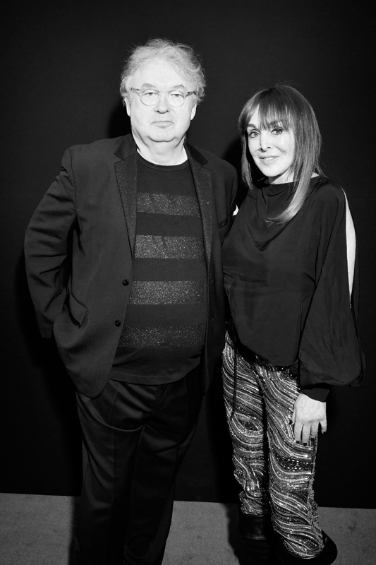 Dominique Besnehard et Babeth Djian