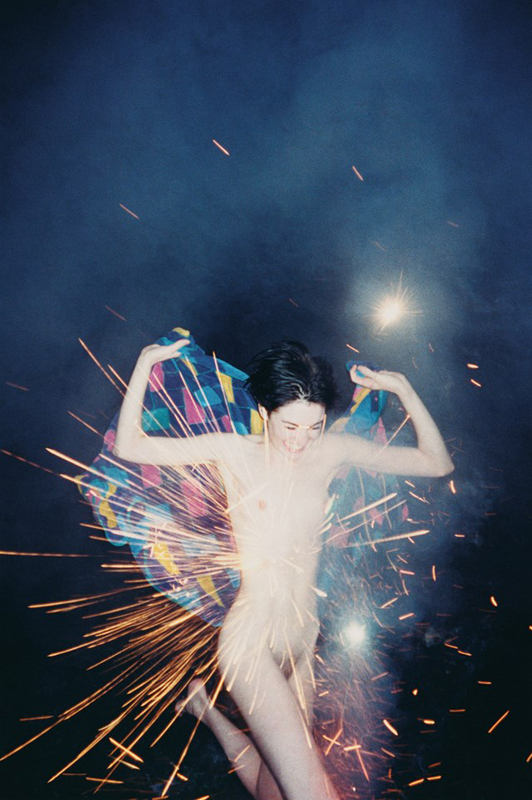 """Fireworks"", 2002 Courtesy Ryan McGinley and team (gallery, inc.) © Ryan McGinley."